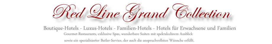 Red Line Hotelauswahl