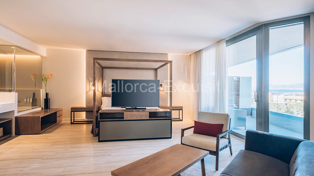 5 Sterne Luxushotel Selection Llaut Palma - JUNIOR SUITE MEERBLICK