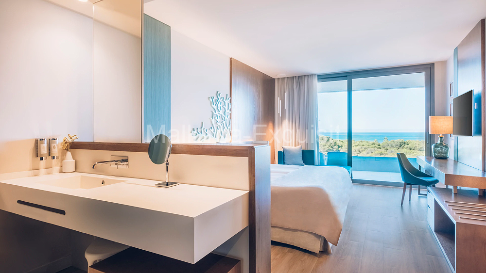 5 Sterne Luxushotel Selection Llaut Palma - DOPPELZIMMER MIT MEERBLICK