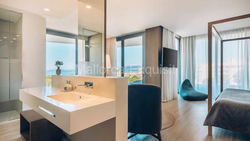 5 Sterne Luxushotel Selection Llaut Palma - SUITE MIT MEERBLICK