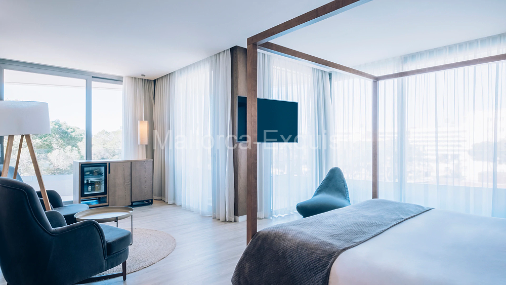 5 Sterne Luxushotel Selection Llaut Palma - SUITE MIT POOLBLICK